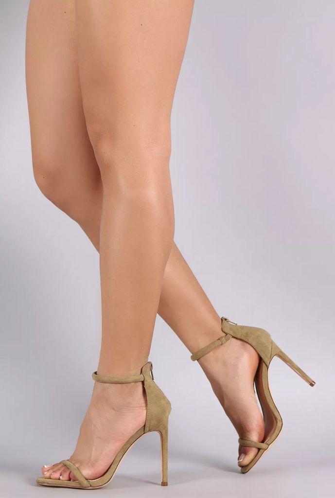 Simple Ankle Strap Heels